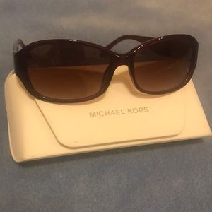 Red Michael Kors Sunglasses